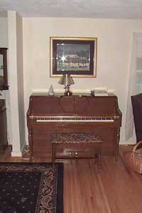 The piano I grew up with